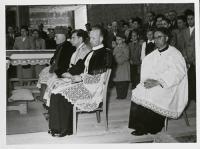 09_Empfang des Bischofs - 7.11.1954