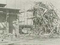 05_Turm nach dem Orkan 6.8.1954