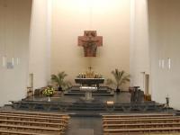 17_Der Altarraum der St. Nikolauskirche vor dem Umbau.