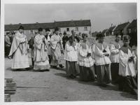 10_Weihe der Kirche durch Bischof Dr. Julius Döpfner - 7.11.1954