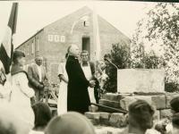 01_Kloster - Grundsteinlegung 25.1.1953