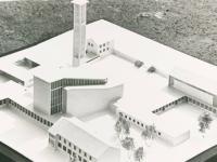 15_Modell der Kirche St. Alfons, des Kindergartens, des Pfarrheims und des Klosters