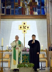Ökumenischer Gottesdienst am 13.10.2019: ULF, St. Barbara, Martin Luther Kirche - Segen